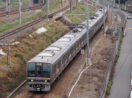 207系快速  東海道本線塚本~尼崎01
