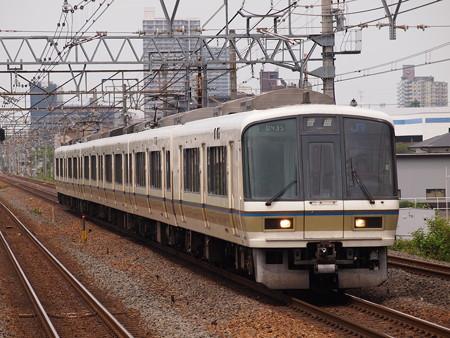 221系普通 東海道本線南草津駅01
