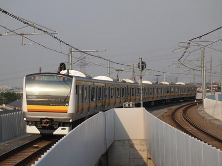 E233系普通 南武線南多摩駅