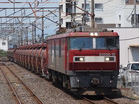 EH500 安中貨物 常磐線勝田駅