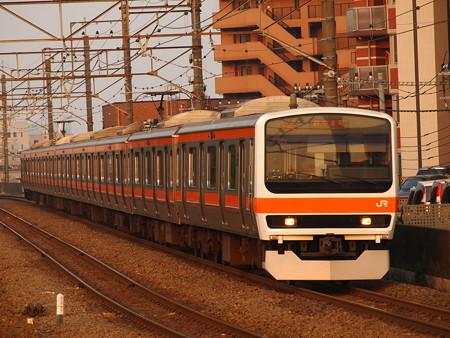209系普通 武蔵野線新座駅