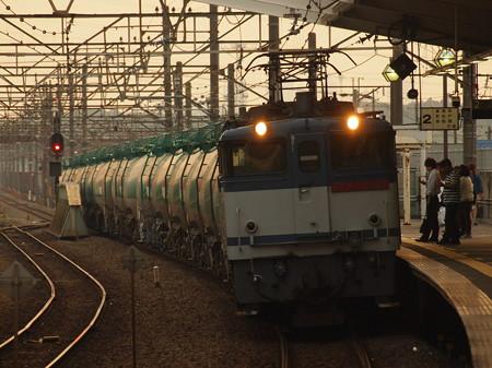 EF65貨物 武蔵野線新座駅