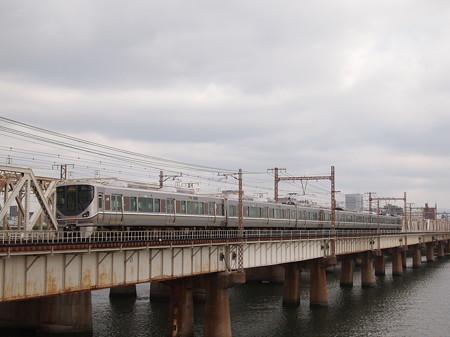 225系丹波路快速回送 東海道本線新大阪~大阪