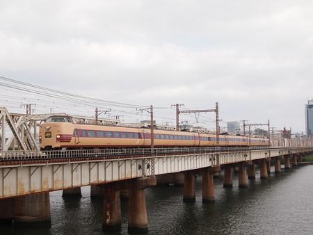 381系特急こうのとり 東海道本線新大阪~大阪