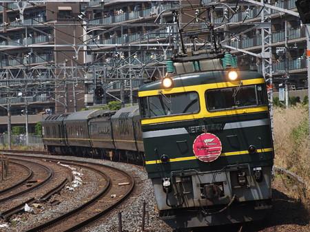 EF81 寝台特急トワイライトエクスプレス 東海道本線サントリーカーブ
