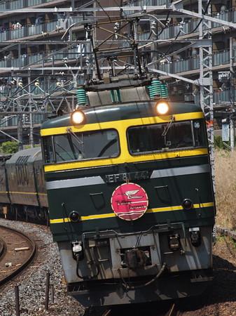 EF81 寝台特急トワイライトエクスプレス 東海道本線サントリーカーブ2