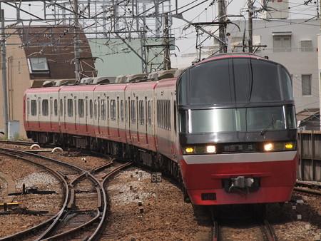 名鉄1000系特急    名古屋本線東岡崎駅02