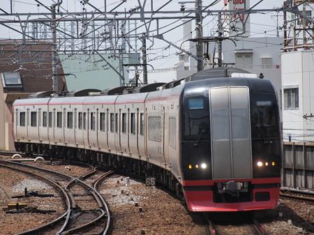 名鉄2200系快速特急 名古屋本線東岡崎駅