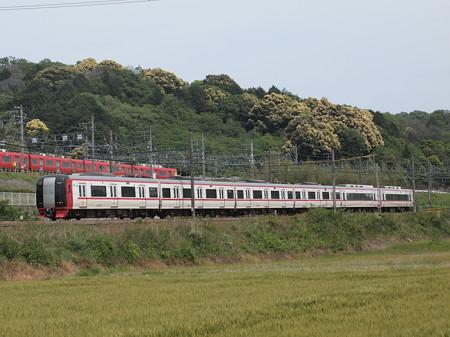 名鉄2200系特急    名古屋本線山中~藤川02