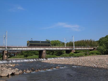 EF65単機回送 北陸本線河毛~高月01