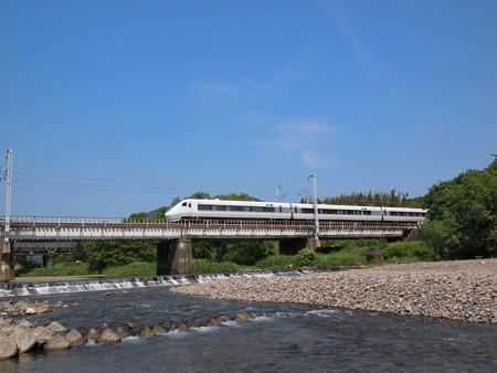 681系特急しらさぎ 北陸本線河毛~高月04