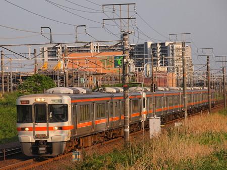 313系新快速 東海道本線稲沢~尾張一宮01
