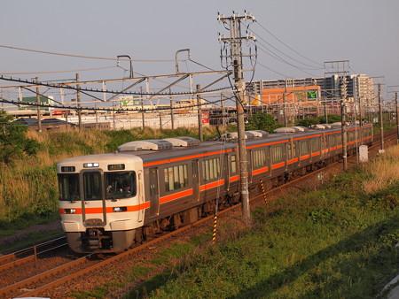 313系普通 東海道本線稲沢~尾張一宮01