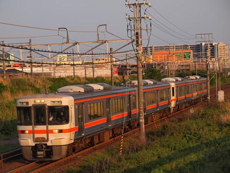 313系普通 東海道本線稲沢~尾張一宮02