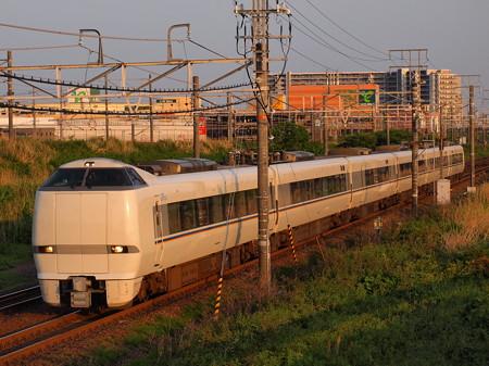 681系特急しらさぎ 東海道本線稲沢~尾張一宮02