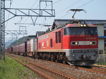 EF510 貨物 北陸本線河毛~虎姫