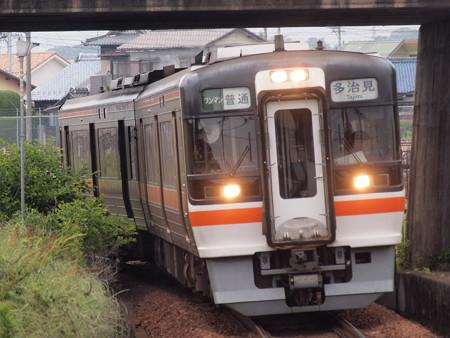 キハ75系普通  太多線美濃川合駅02