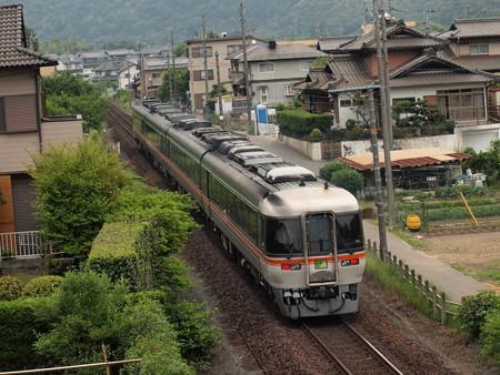 キハ85系特急ワイドビューひだ 高山本線坂祝~鵜沼05