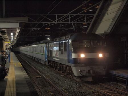 EF210 メトロ16000系甲種 東海道本線安城駅01