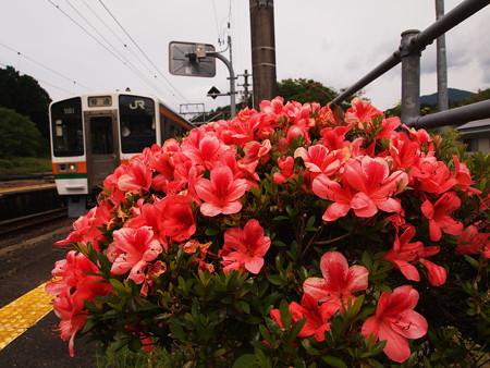 213系普通 飯田線大海駅