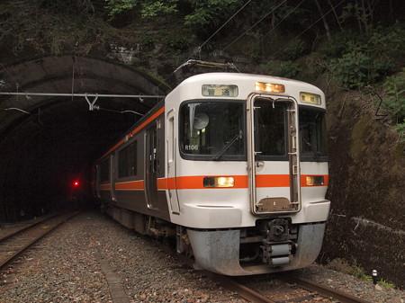313系普通 飯田線大嵐駅