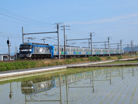 EF210 西武30000系甲種  東海道本線岐阜~木曽川01