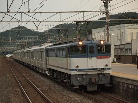 EF65  メトロ13000系甲種  東海道本線近江長岡駅03