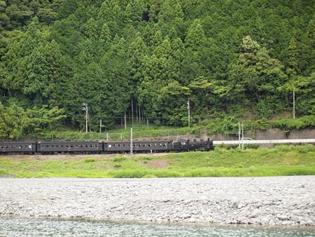 C10急行かわね路 大井川鐵道塩郷駅周辺02