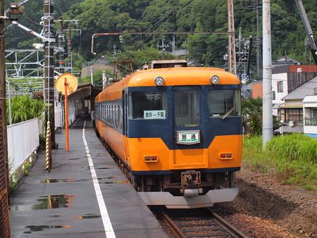 近鉄16000系急行 大井川鐵道金谷駅03