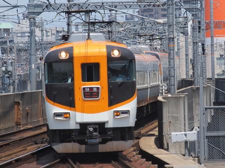 近鉄12400系回送 近鉄名古屋線八田駅01
