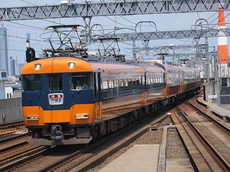 近鉄12200系名阪乙特急 近鉄名古屋線八田駅