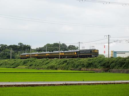 EF65 サロンカーなにわ婚活 東海道本線稲枝~能登川02