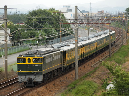 EF65 サロンカーなにわ婚活列車 東海道本線河瀬~稲枝02