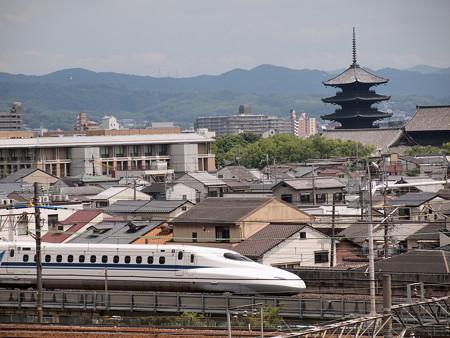 N700系のぞみ  東海道新幹線京都~新大阪01