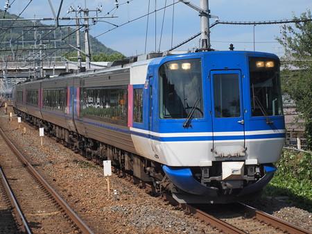 HOT7000系特急スーパーはくと 東海道本線島本駅
