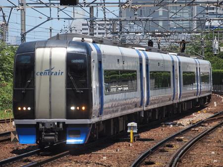 名鉄2000系ミュースカイ 名鉄名古屋本線神宮前駅