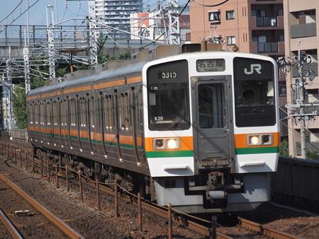 211系普通 中央本線鶴舞駅