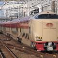 写真: 285系サンライズエクスプレス 東海道本線横浜駅03