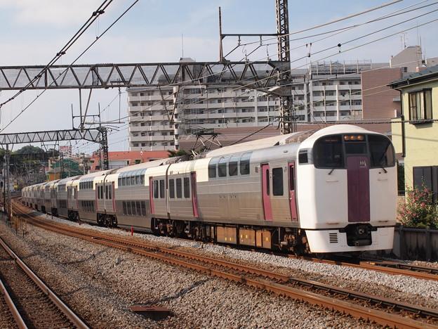 215系湘南ライナー 東海道本線戸塚駅02