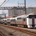 写真: 215系湘南ライナー 東海道本線戸塚駅02