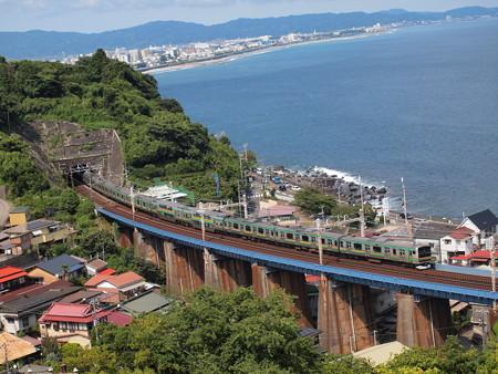 E231系  東海道本線早川~根府川01