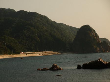 EF81カシオペアクルーズ 羽越本線今川~越後寒川01