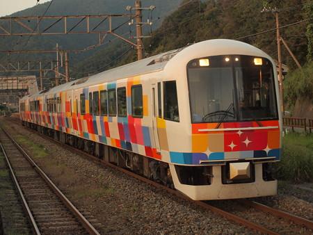 485系きらきらうえつ羽越本線越後寒川駅03