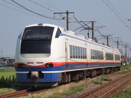 E653系快速おはよう信越  信越本線荻川~さつき野02