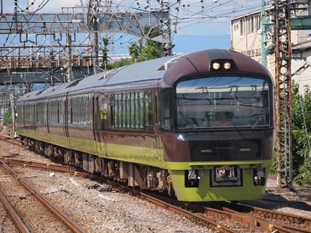 485系快速たんばらラベンダー号 上越線新前橋駅