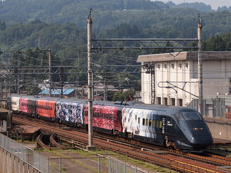 E3系現美新幹線 上越新幹線長岡~浦佐