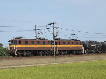 ED45形貨物  三岐線山城~保谷05