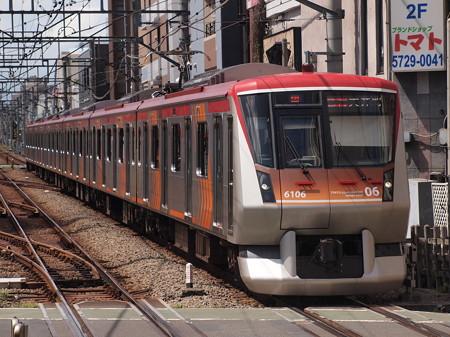 東急6000系急行 東急大井町線自由が丘駅02