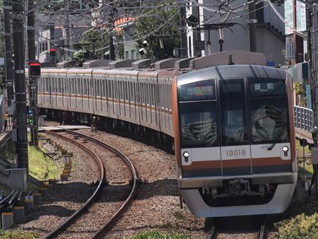 メトロ10000系Fライナー 東急東横線自由が丘駅