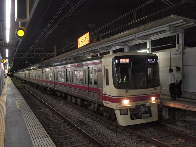 京王8000系準特急 京王線明大前駅02
